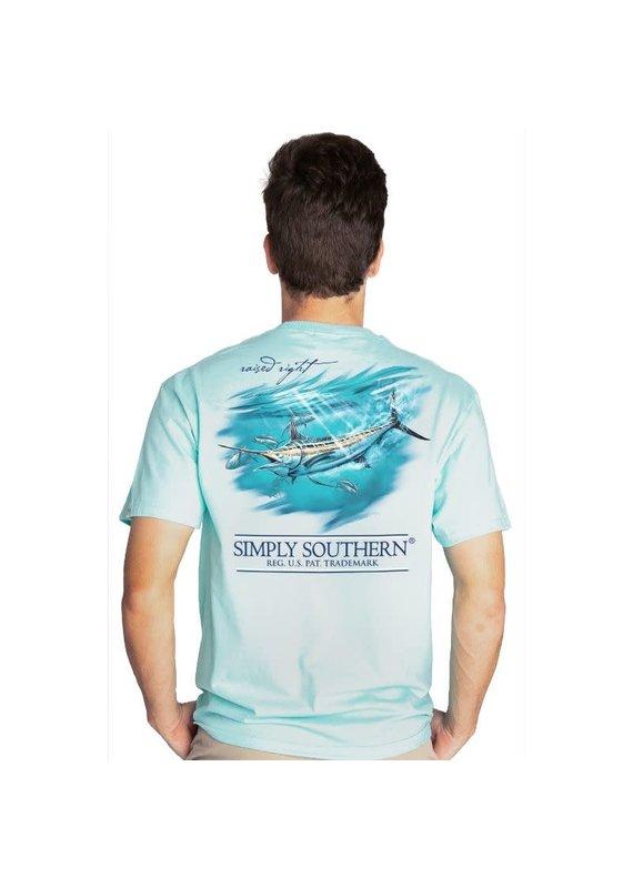 ****Simply Southern Short Sleeve Marlin Ice