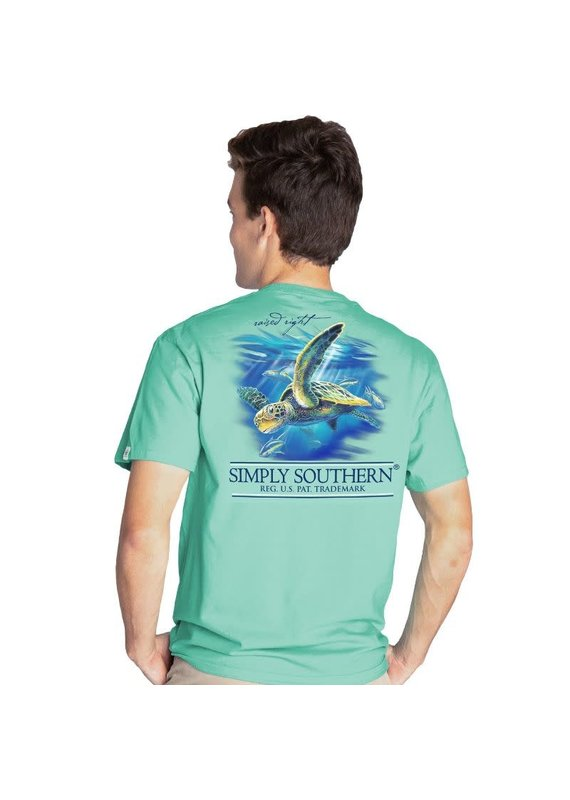 ****Simply Southern Short Sleeve Turtle Sea