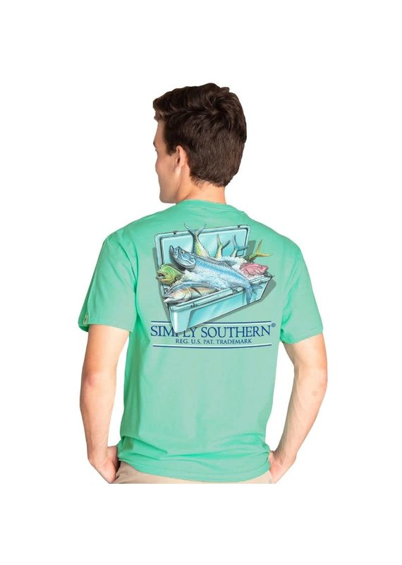 ****Simply Southern Short Sleeve Cooler Sea
