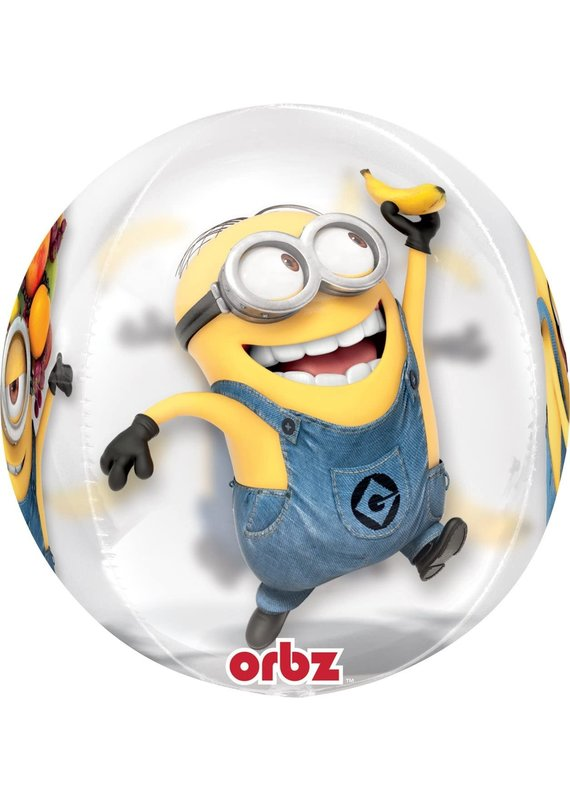 *****Despicable Me Orbz Clear Balloon