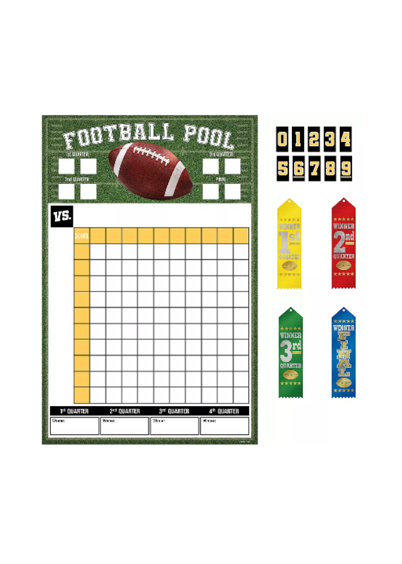 ****Football Pool Party Game