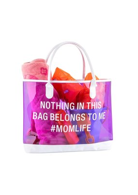 About Face Designs ****#Mom Life Beach Tote