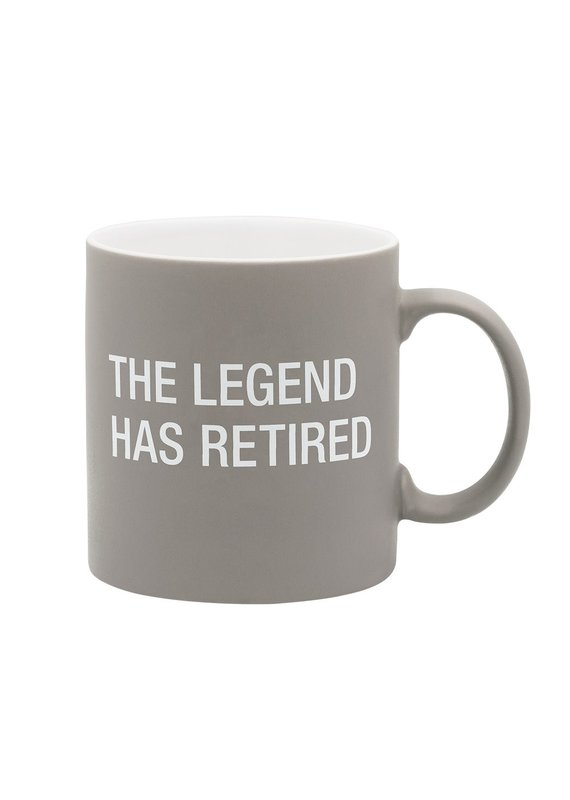 About Face Designs ****The Legend has Retired Coffee Mug