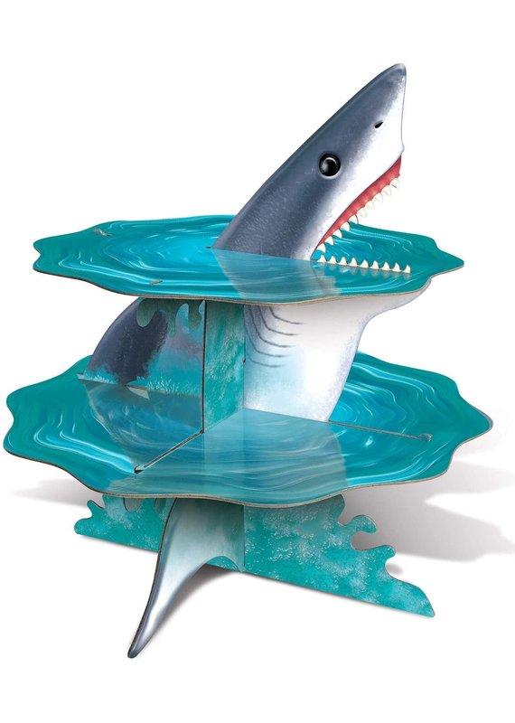"****Shark Cupcake Stand 14"" Tall"