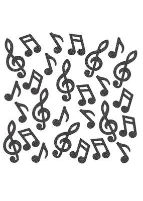 ****Deluxe Musical Note Sparkle Confetti