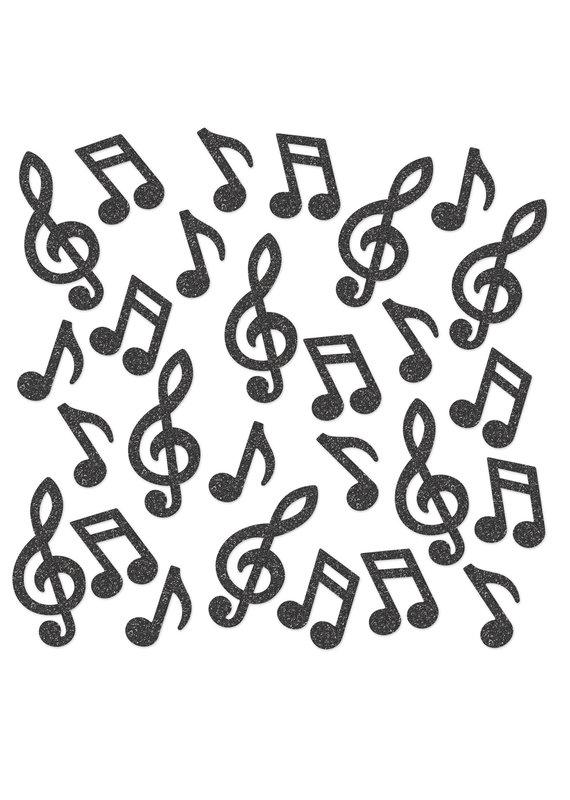 *****Deluxe Musical Note Sparkle Confetti