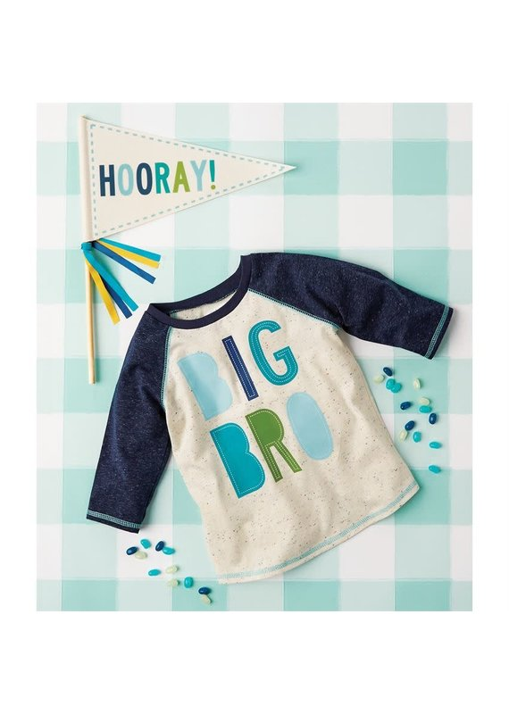 ****Big Brother Shirt & Pennant Set