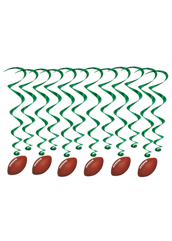 ****Football Whirls 12ct
