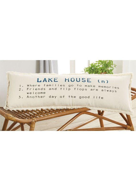 ****Lake House Definition Pillow
