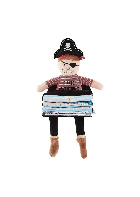 ****Pirate Plush Fold Out Book