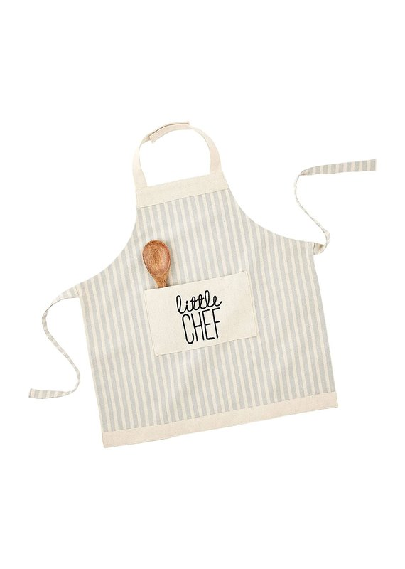 ****Little Chef Kid's Apron in Blue