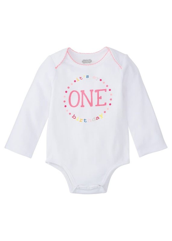 ****First Birthday Girl Onesie (9-12mo)