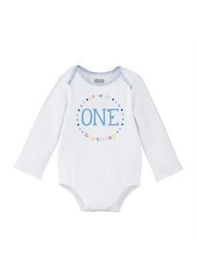****First Birthday Boy Onesie (9-12mo)