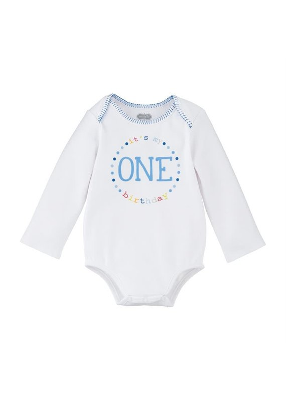 ****First Birthday Boy Onesie (9-12mo)