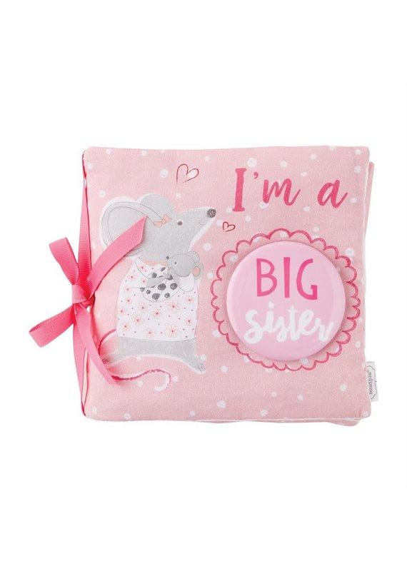 ****Big Sister Book with Button