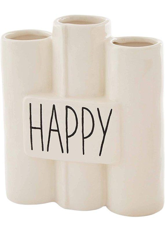 ****Happy Connected Bud Vase