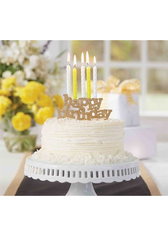 ****Happy Birthday Candle Holder