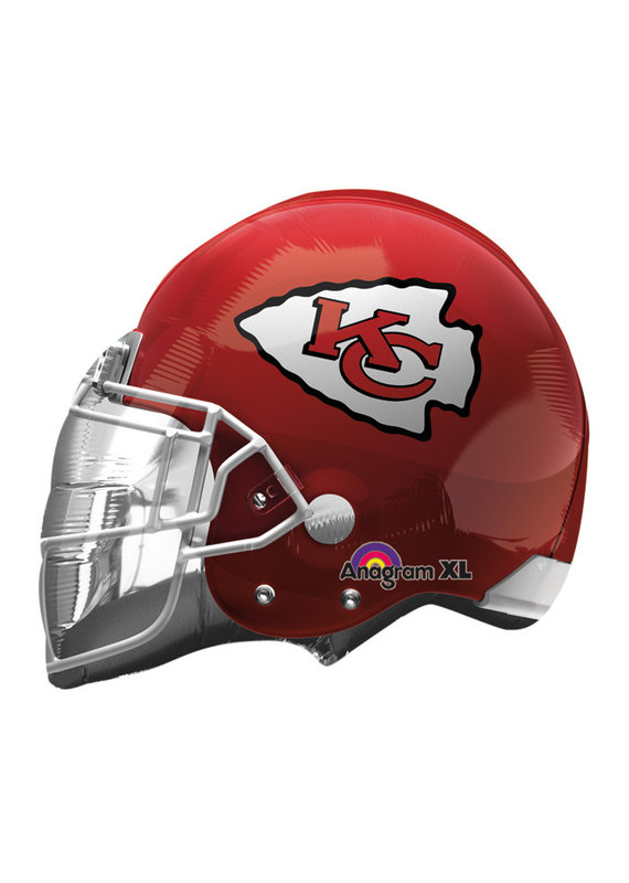 ****Kansas City Chiefs Helmet Mylar Balloon
