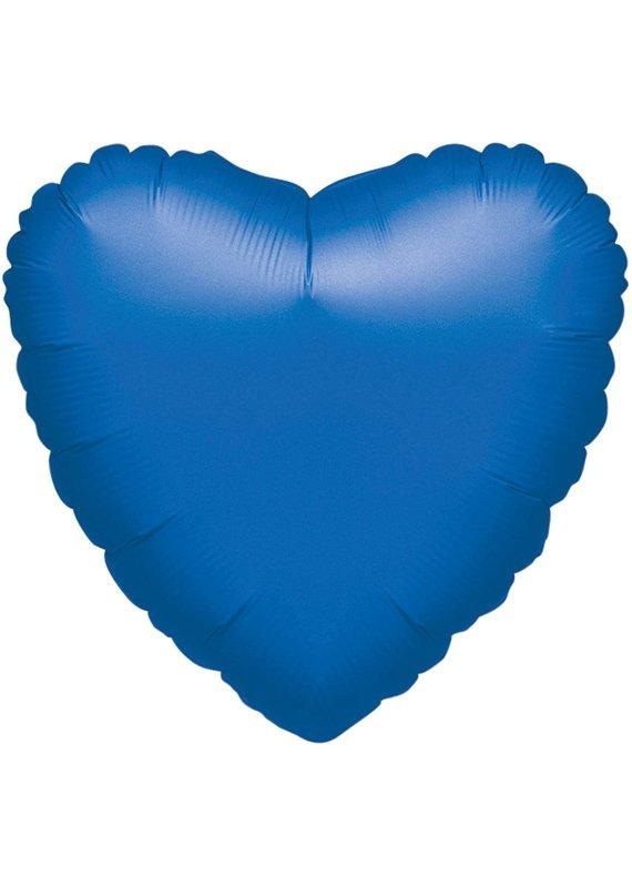 *****Metallic Blue Heart Mylar Balloon