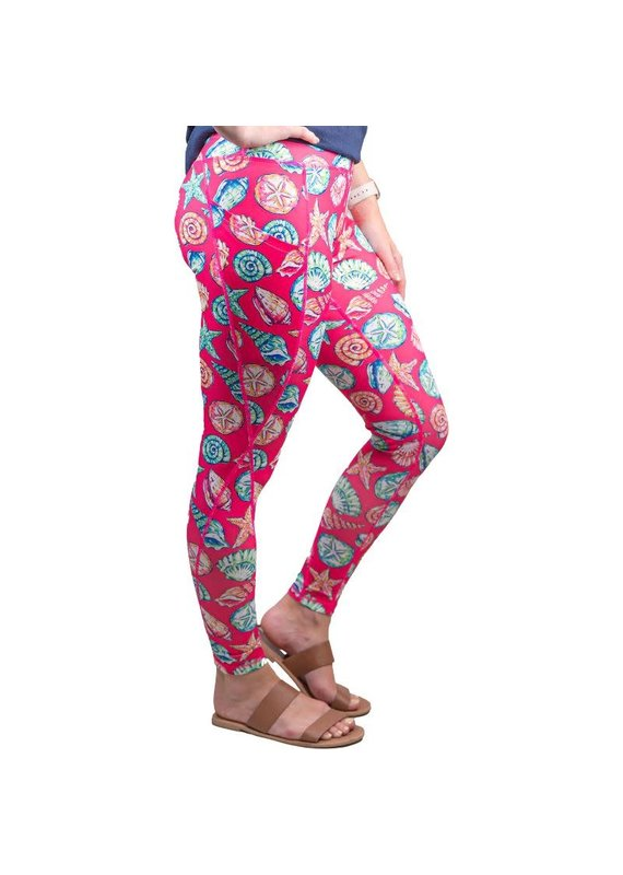 ****Simply Southern Sport Leggings Shell