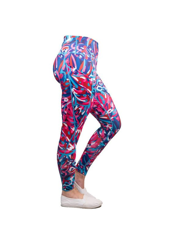 ****Simply Southern Sport Leggings Rainforest