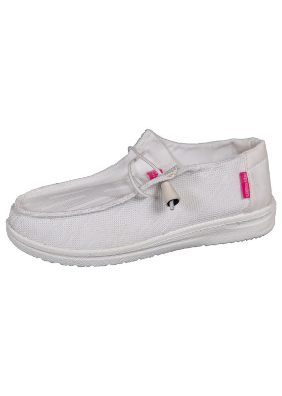 ****Simply Southern Slip On Shoe White