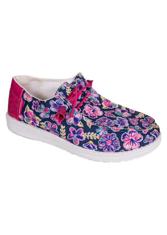 ****Simply Southern Slip On Shoe Butterfly