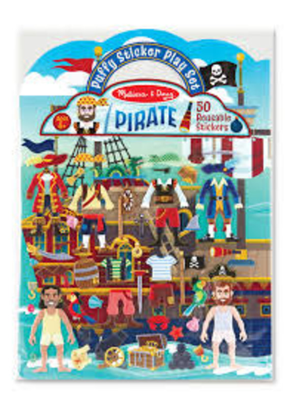 ****Puffy Stickers Pirate