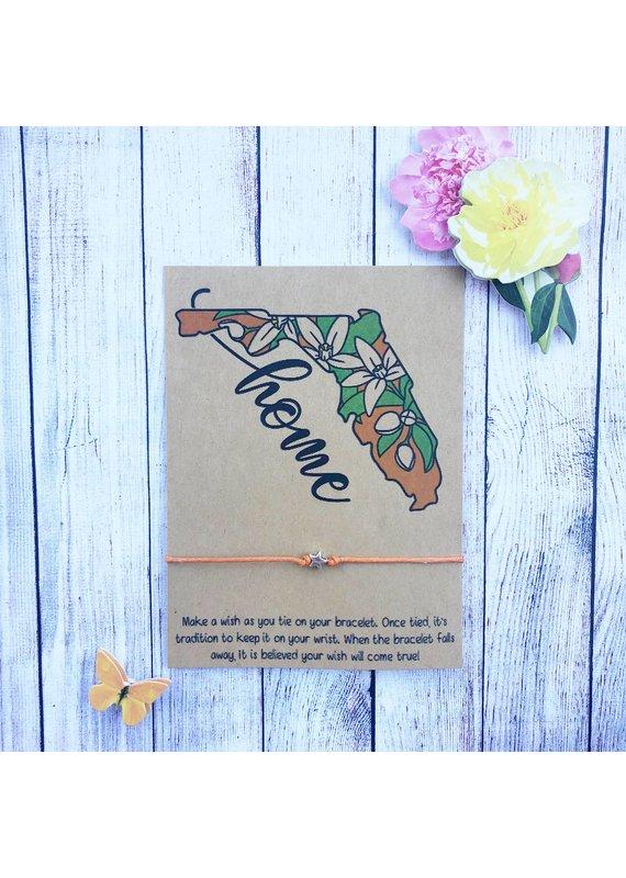 Wishlet ****Florida Home Wishlet Bracelet