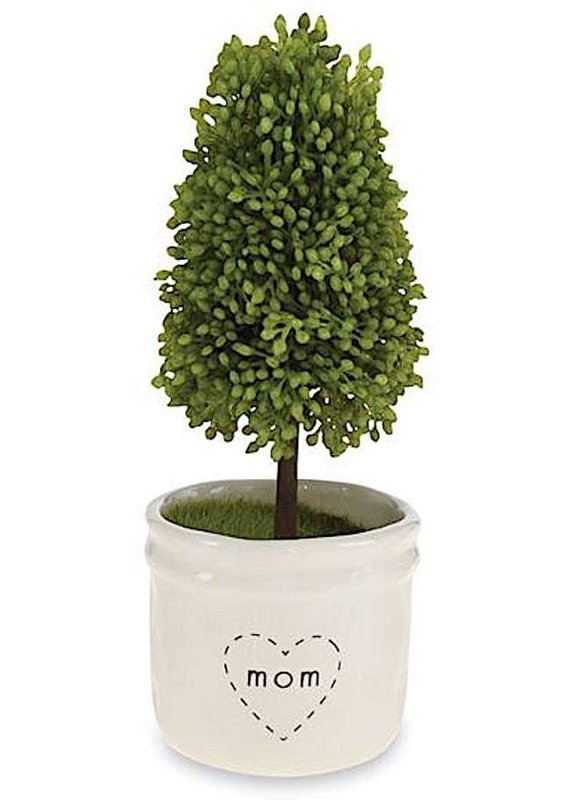 ****Mom Artificial Topiary