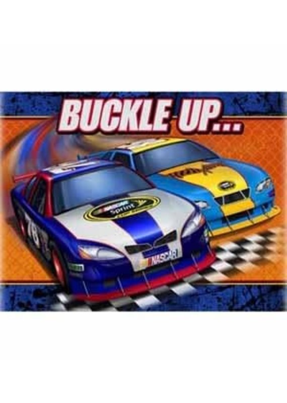 ****NASCAR Buckle Up Invitations 8ct