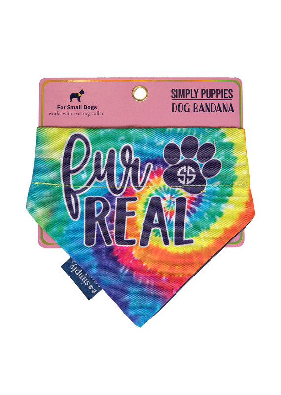 ****Simply Southern Dog Bandana Fur Real