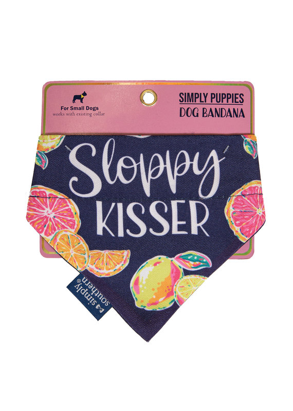 ****Simply Southern Dog Bandana Sloppy Kisser