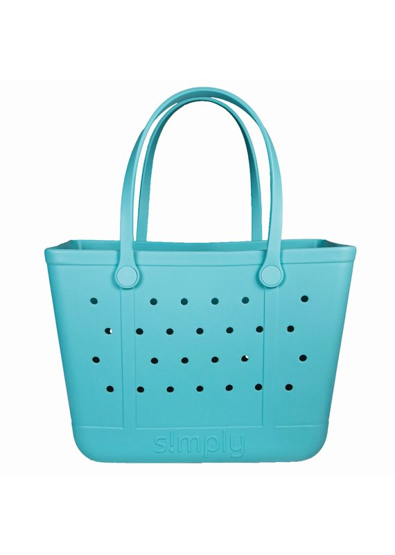 Simply Southern Large Simply Tote Bag in Sky
