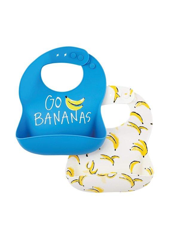 ****Go Bananas Silicone Bibs