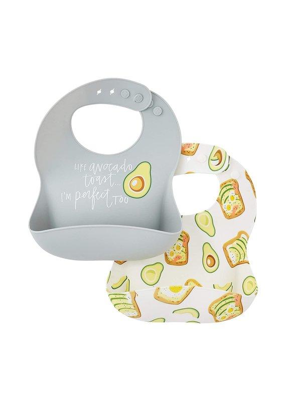 ****Like Avocado Toast Silicone Bibs