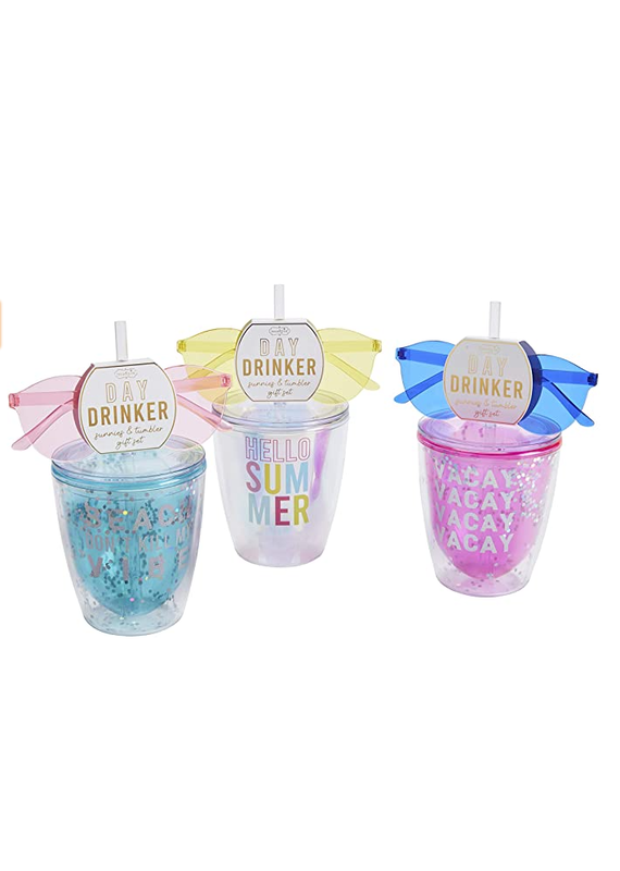 ****Tumbler with Matching Sunglasses Gift Set