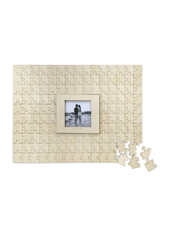 ****Guest Book Puzzle with Photo Frame