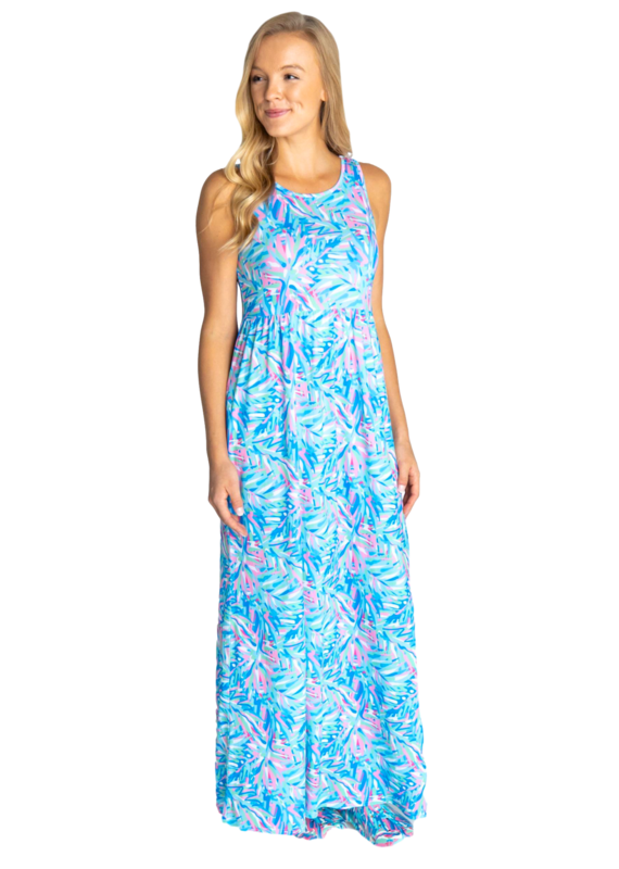 ****Simply Southern Maxi Dress Abstract