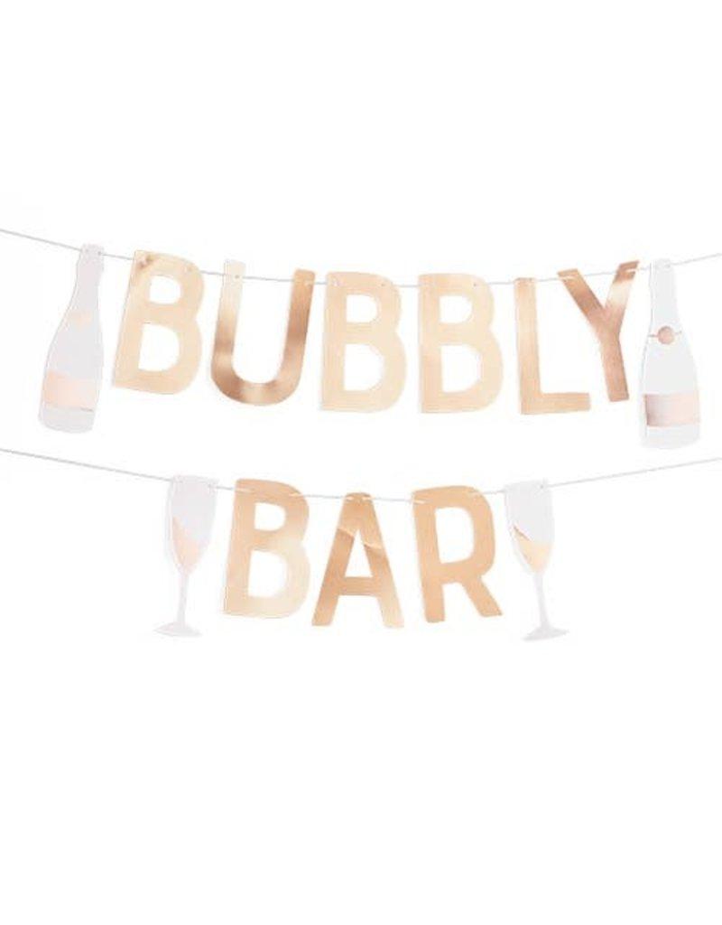 Cakewalk ****Bubbly Bar Garland Banner