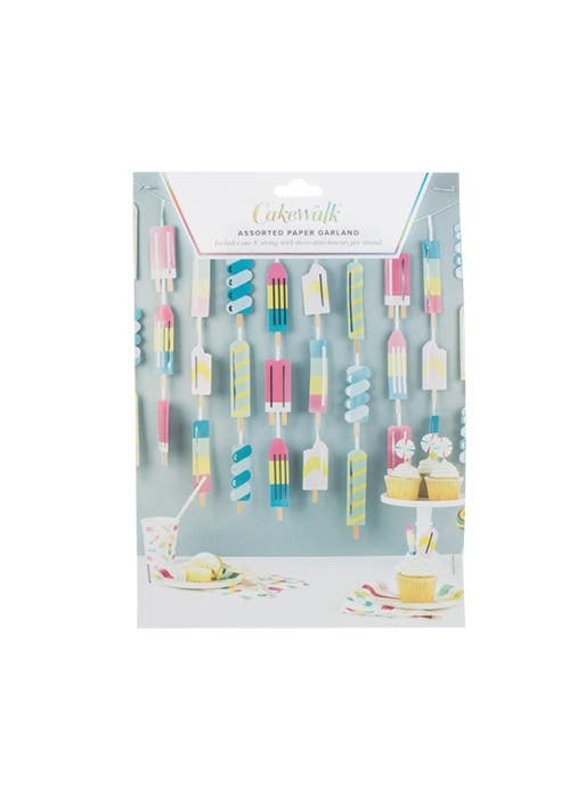 Cakewalk *****Icy Popsicle Garland