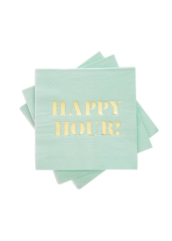 Cakewalk ****Happy Hour Beverage Napkins