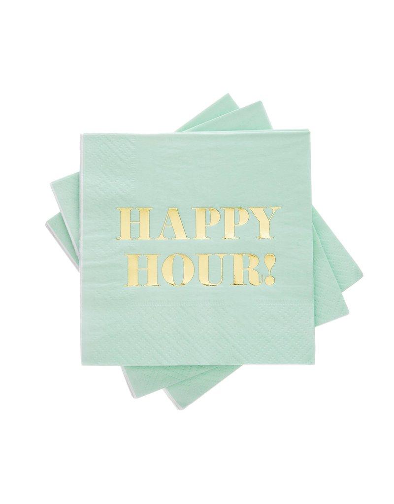 Cakewalk ****Happy Hour Beverage Napkins