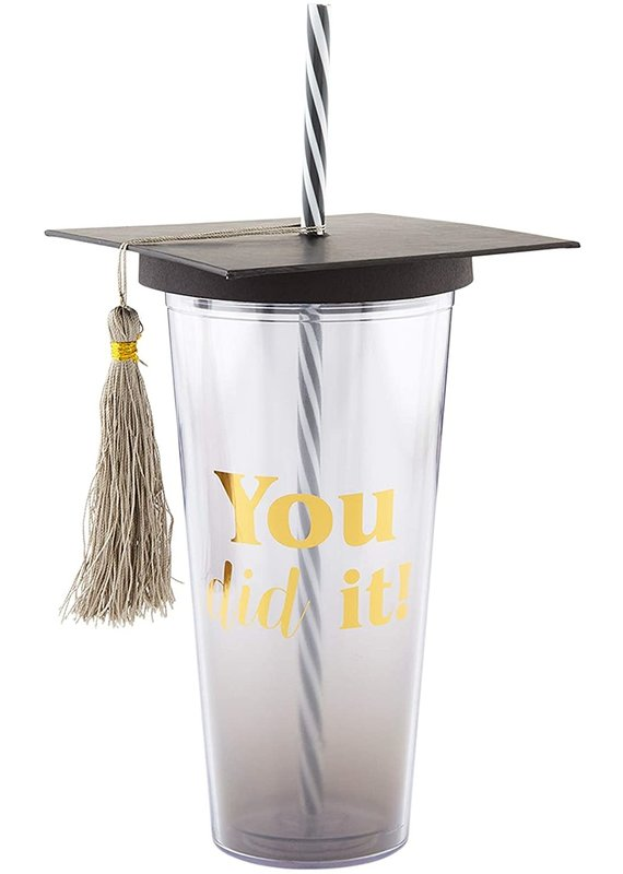 ****You Did It Tumbler Graduation Gift