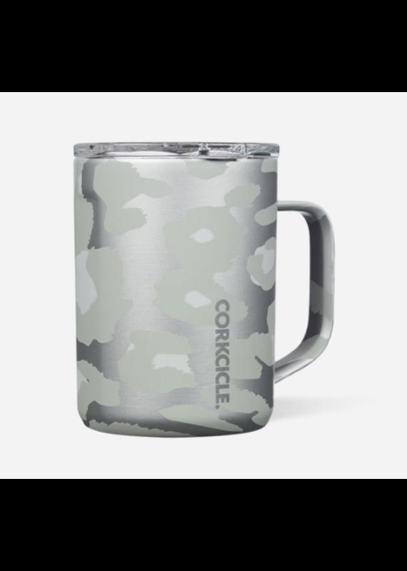 Corkcicle ****Corkcicle Snow Leopard 16oz  Coffee Mug