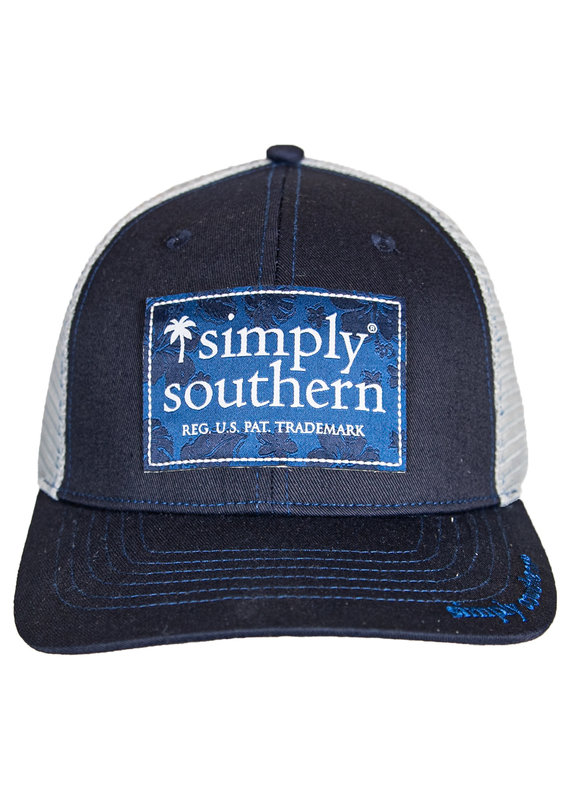 ****Simply Southern Guys Hat Tropic Logo