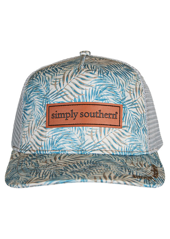 ****Simply Southern Guys Hat Palms