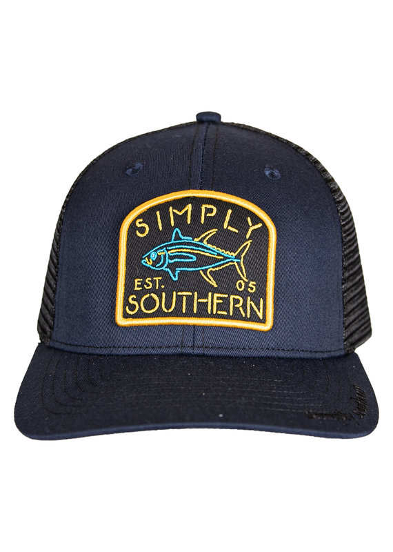 ****Simply Southern Guys Hat Neon