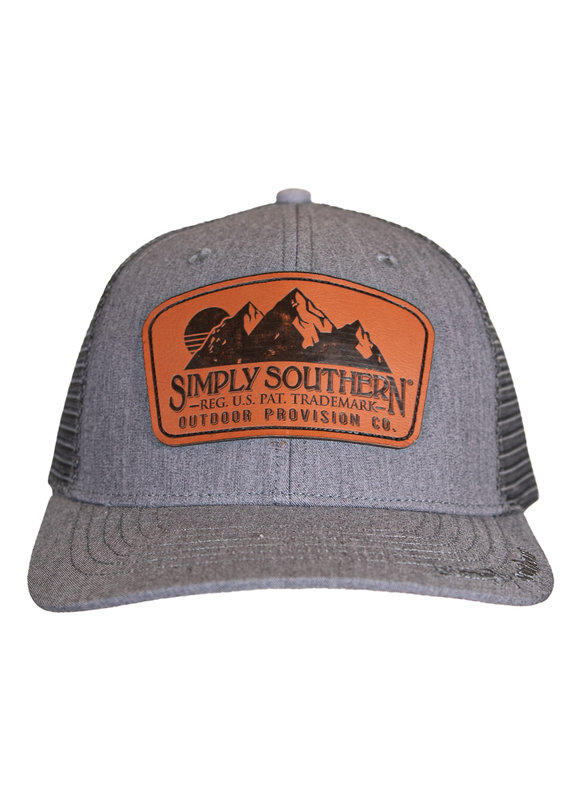 ****Simply Southern Guys Hat Leather Provision