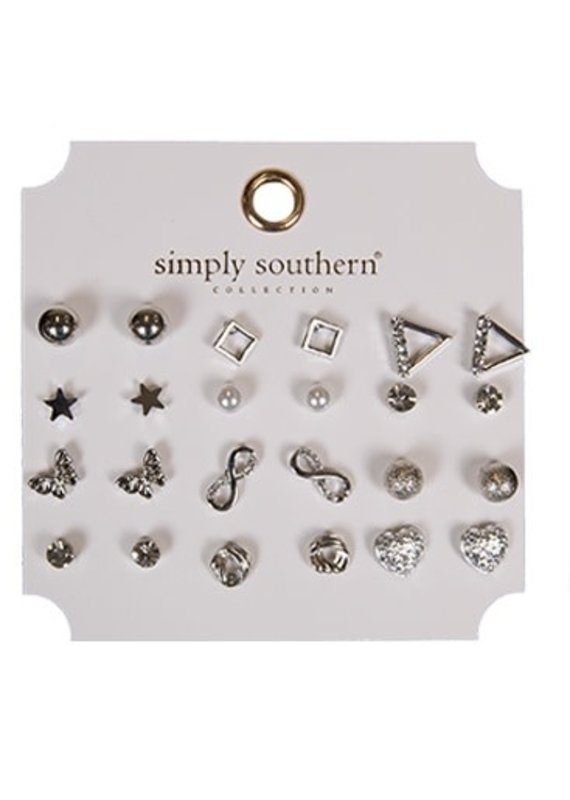 ****Simply Southern Stud Earring Set Star